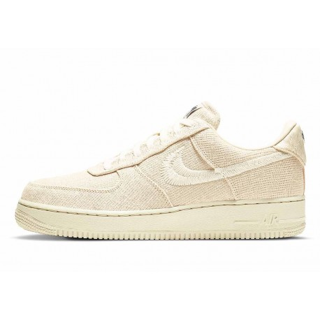 Stussy x Nike Air Force 1 Low Fossil Stone para Hombre y Mujer