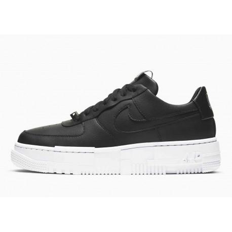 Nike Air Force 1 Pixel Negro Blanco para Hombre y Mujer