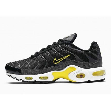 Nike Air Max Plus Negro Amarillo para Hombre