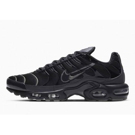 Nike Air Max Plus Negro y Peltre Metalizado para Hombre