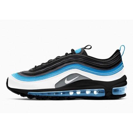 Nike Air Max 97 Blanco Negro Aqua Azul para Hombre y Mujer