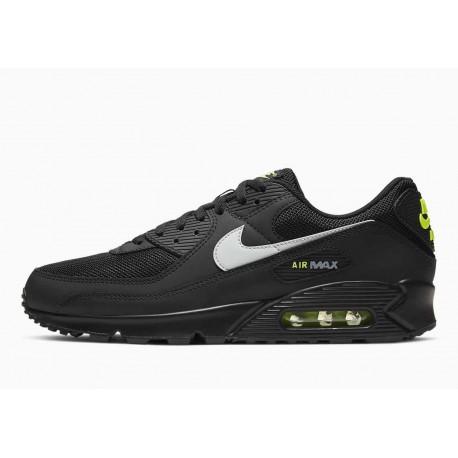Nike Air Max 90 Negro Voltio Gris Humo Claro para Hombre