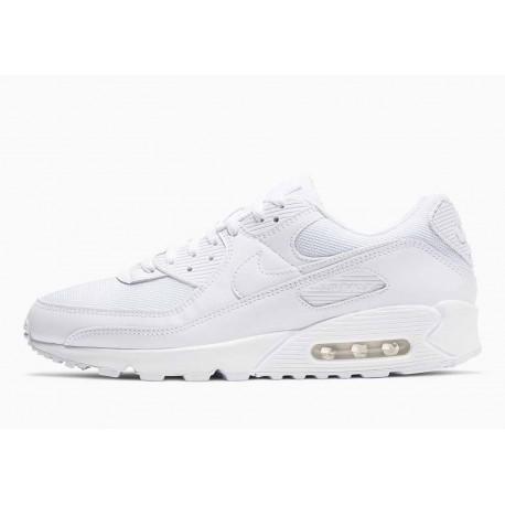 Nike Air Max 90 Triple Blanco para Hombre y Mujer