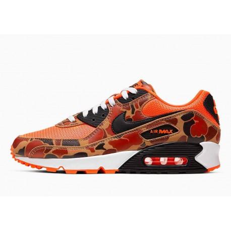 Nike Air Max 90 Pato Camuflaje Naranja Hombre y Mujer