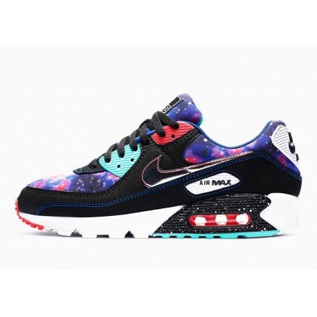 Nike Air Max 90 Supernova 2020 Negro Azul Estrellas para Hombre y Mujer