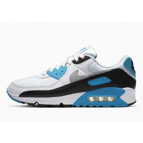 Nike Air Max III Blanco Negro Láser Azul para Hombre y Mujer