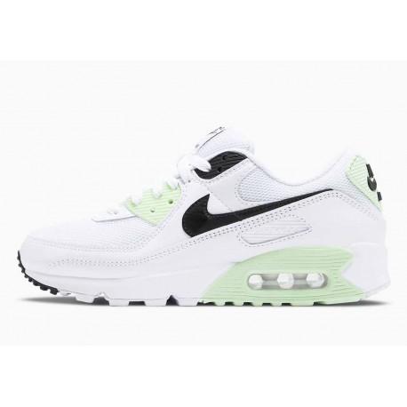 Nike Air Max 90 Blanco Vapor Verde Negro para Hombre y Mujer