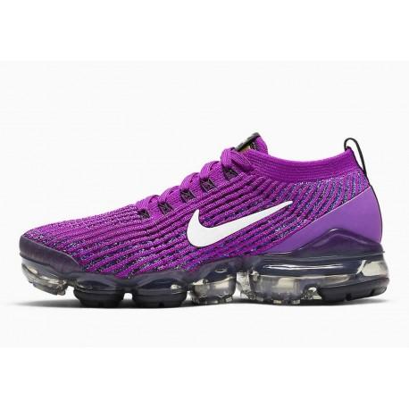 Nike Air VaporMax Flyknit 3 Púrpura Vivo para Hombre y Mujer