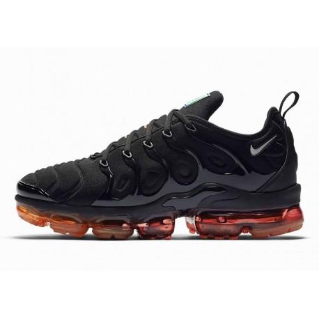 Nike Air VaporMax Plus Negro Naranja Magma para Hombre