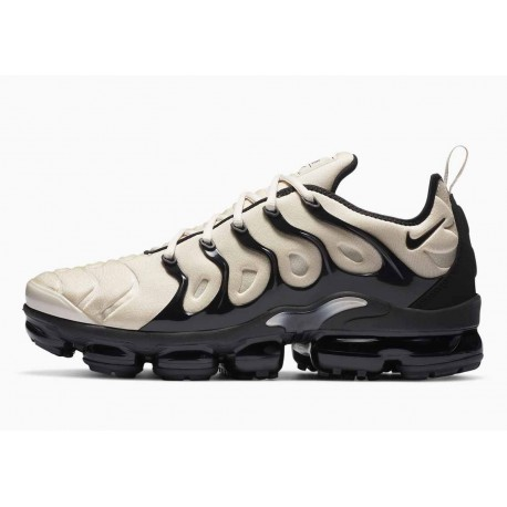 Nike Air VaporMax Plus Hueso Ligero Negro para Hombre