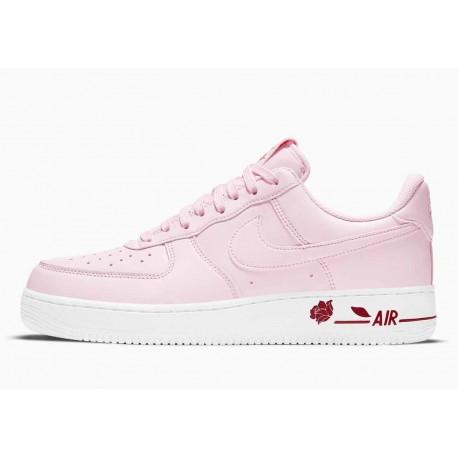 Nike Air Force 1 07 LX Gracias Bolsa de Plástico Espuma Rosa para Mujer