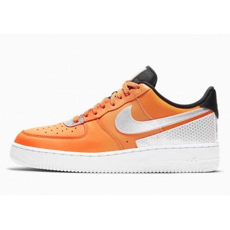 3M x Nike Air Force 1 07 SE Naranja Total para Hombre y Mujer