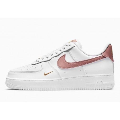 Nike Air Force 1 07 Essential Blanco Rosa Óxido para Hombre y Mujer