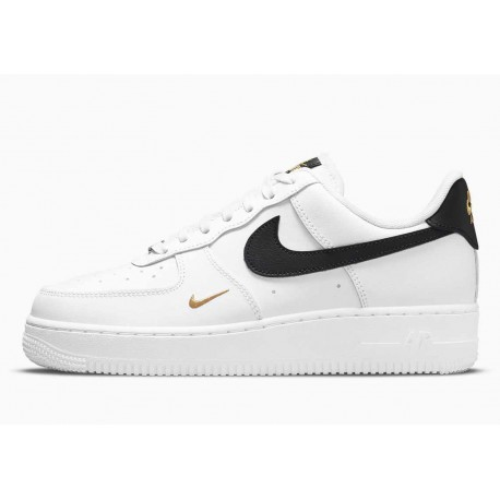 Nike Air Force 1 07 Essential Blanco Negro para Hombre y Mujer