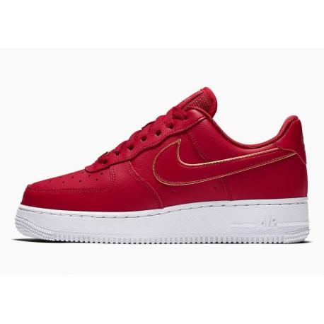Nike Air Force 1 07 Essential Iconos Choque Rojo Universitario para Hombre y Mujer